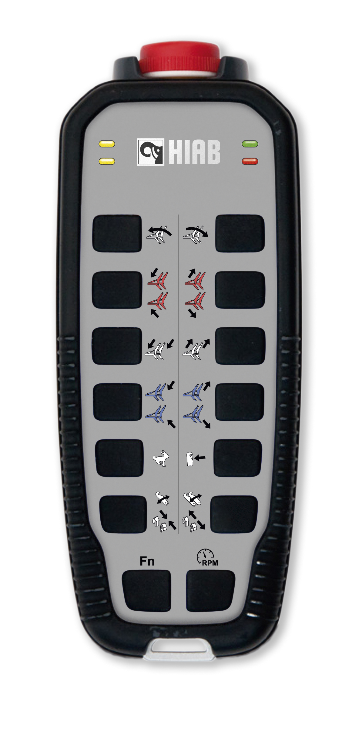 Hiab Multilift skiploader radio control