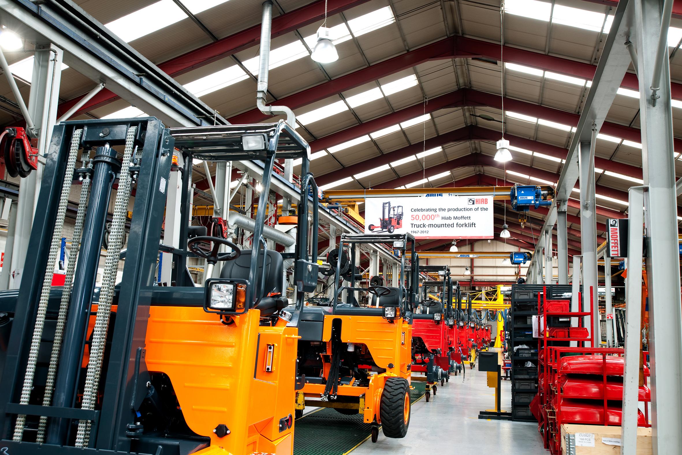 Cargotec Ireland, Assembly Line