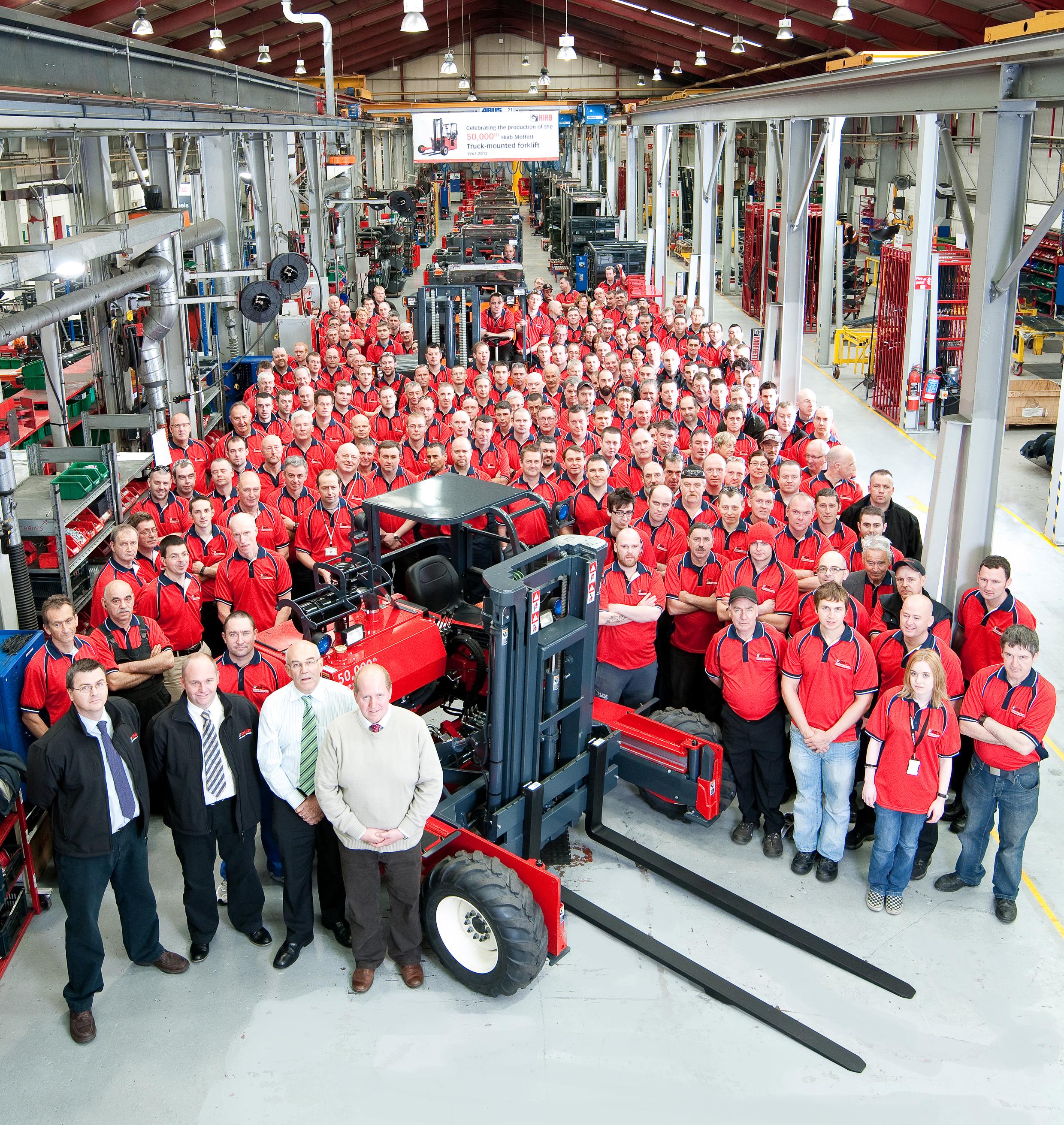 Cargotec 50K Production Line