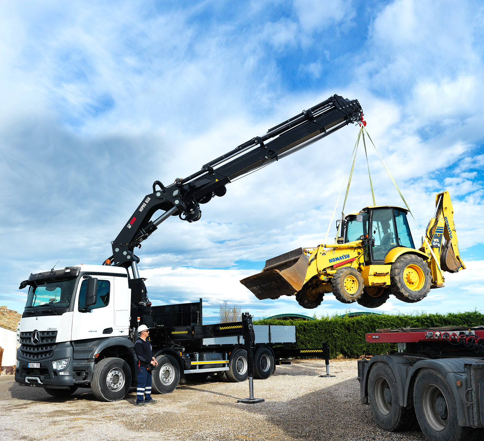 Photo: HIAB X-HiPro 858