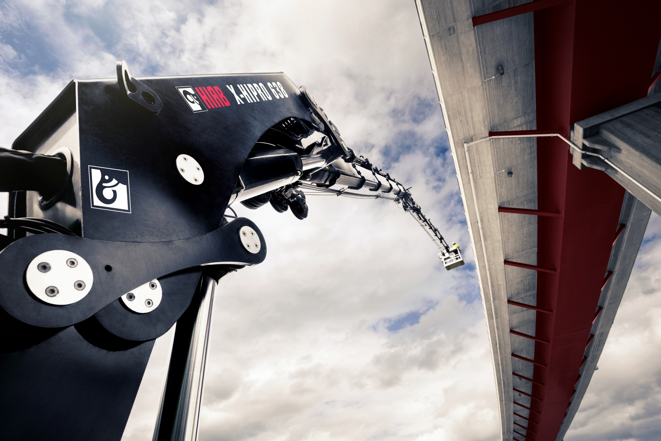 HIAB X-HiPro 638 close-up