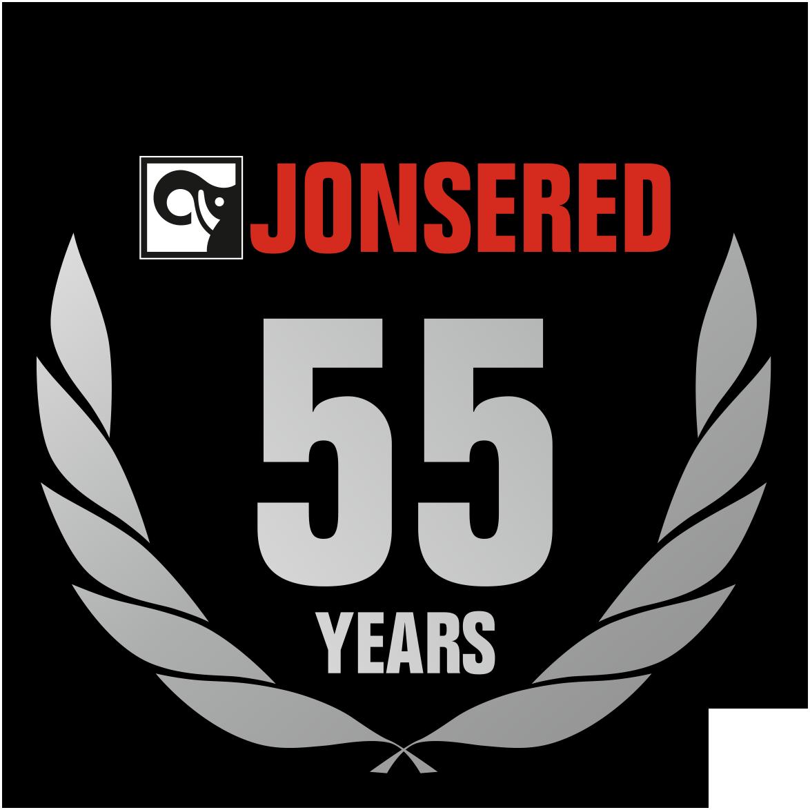 JONSERED jubilee logo