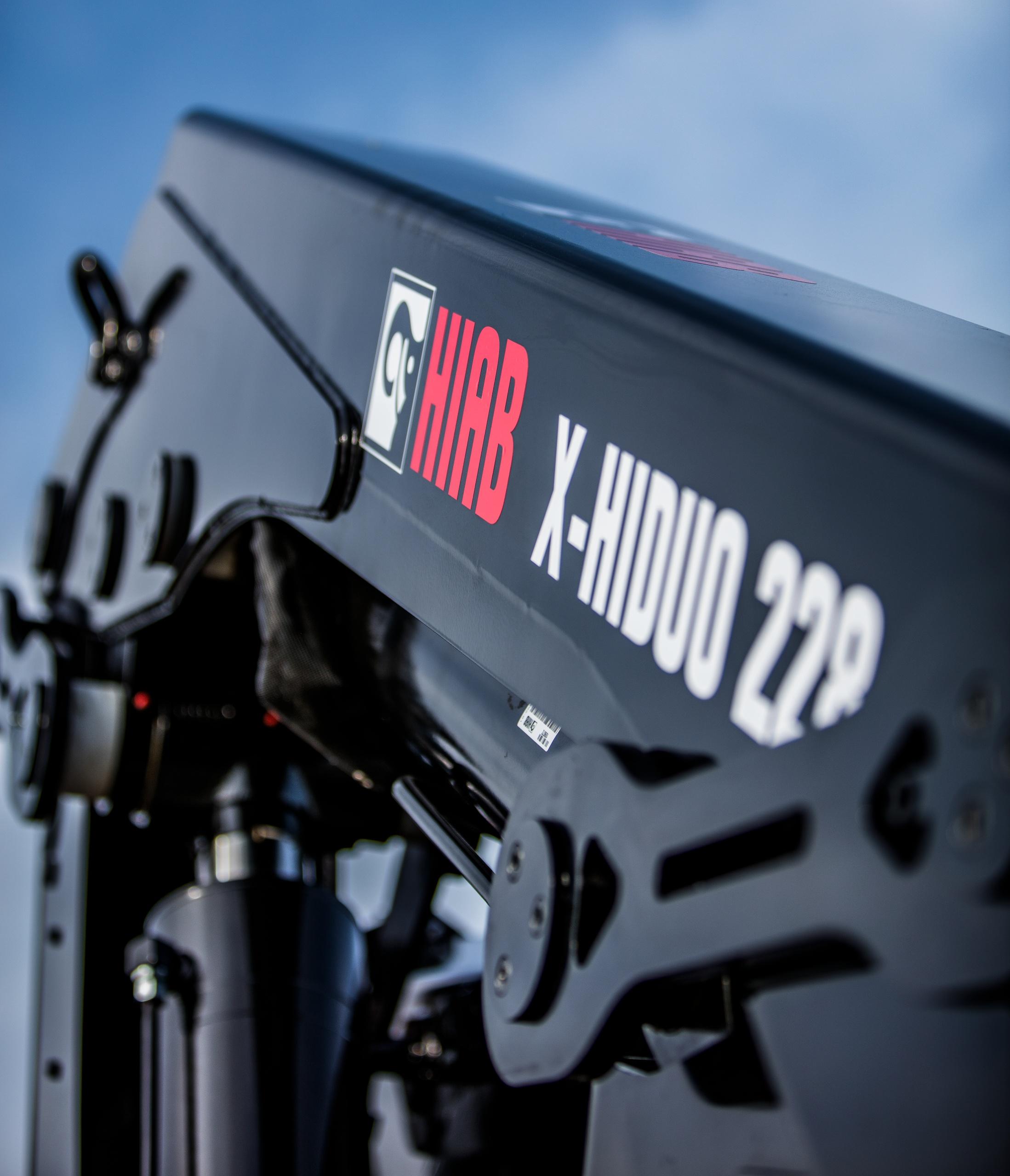 HIAB X-HIDUO 228 & X-HIPRO 232