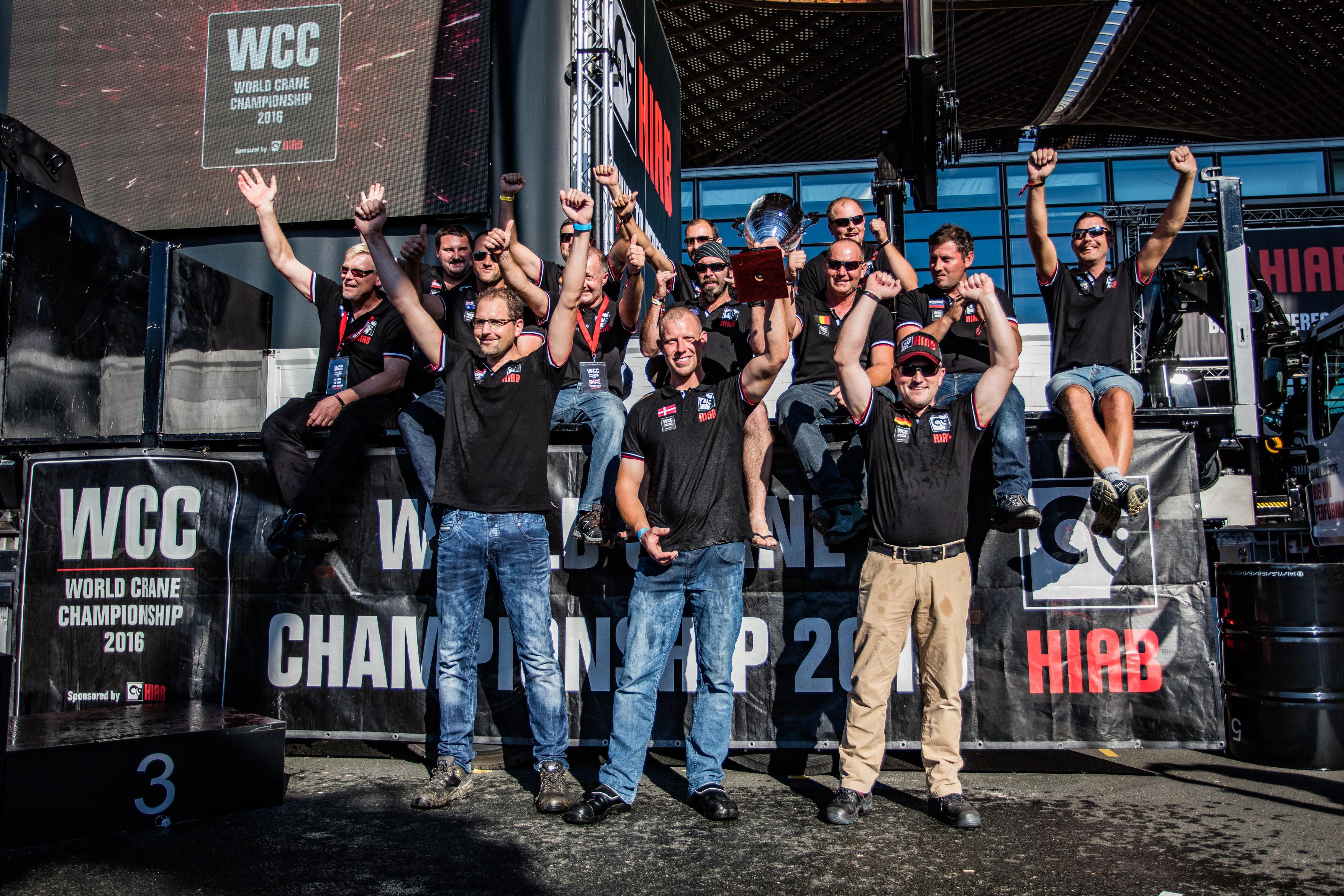 Finalists at World Crane Championships at IAA 2016