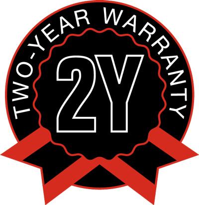 MULTILIFT two-year  warranty symbol