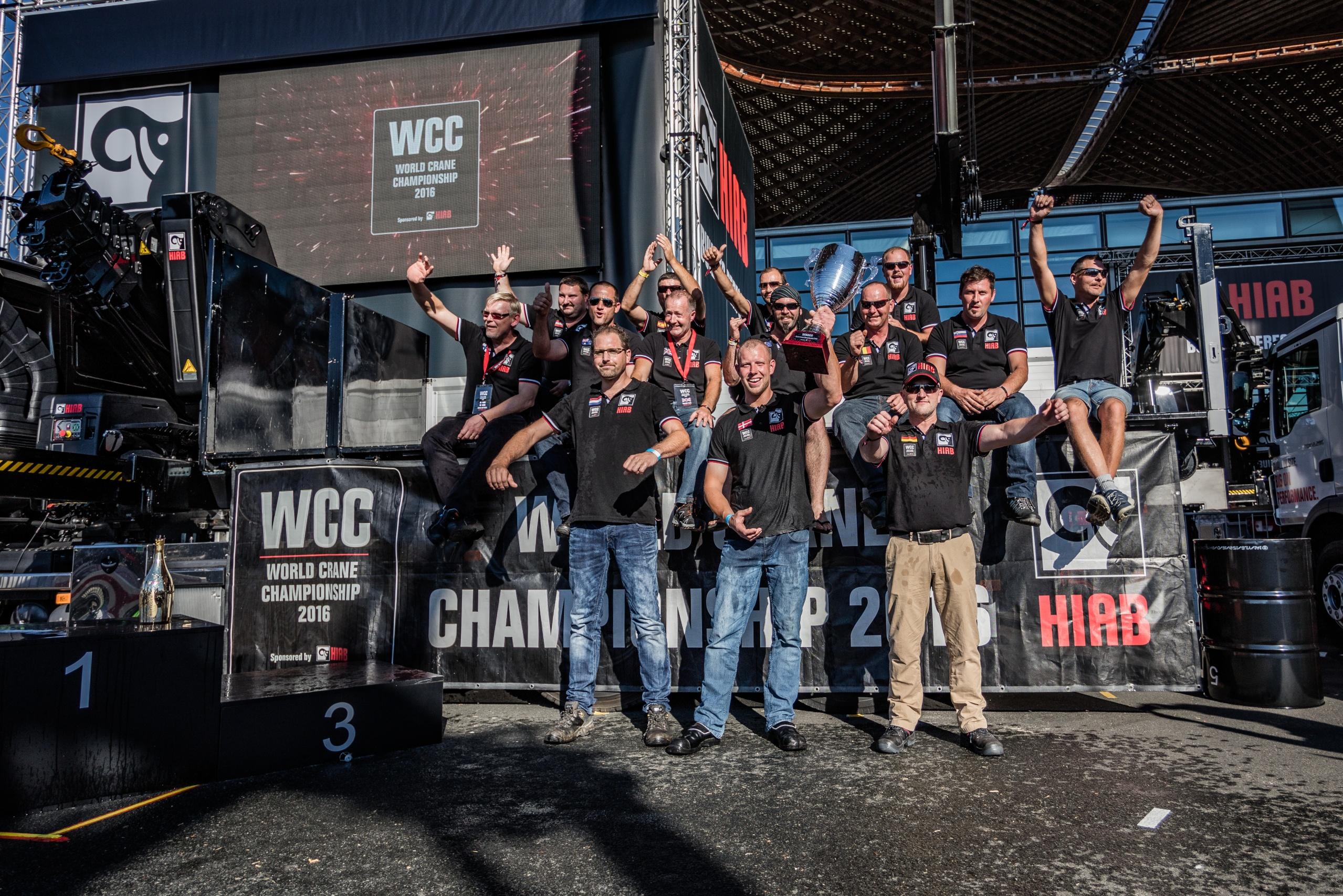 HIAB World Crane Championship at IAA 2016