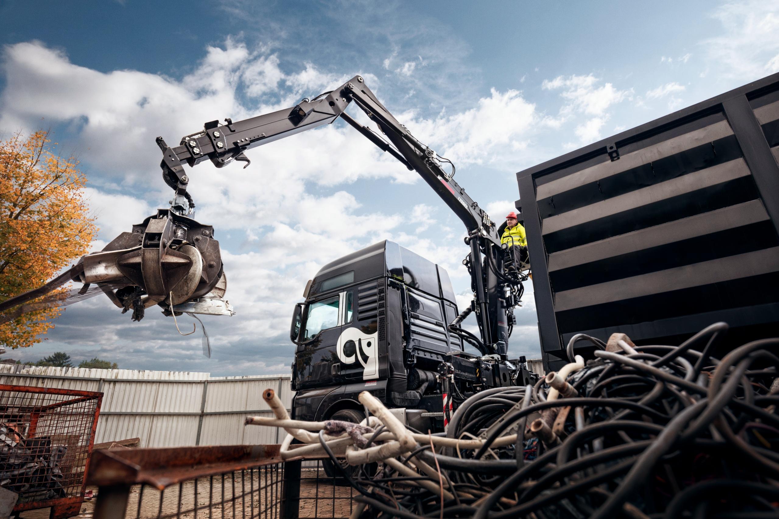 JONSERED 1250RZ recycling crane_2