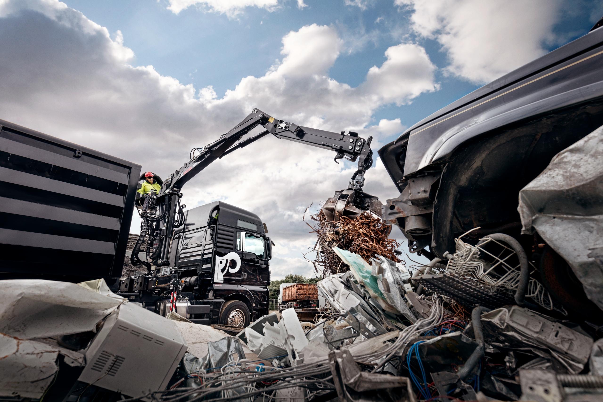 JONSERED 1250RZ recycling crane