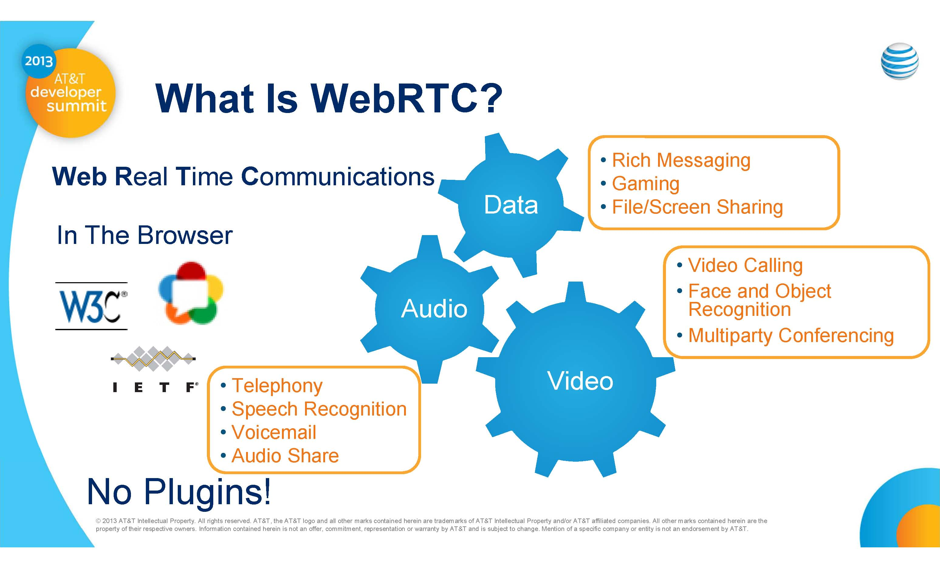 What is WebRTC courtesy of AT&T