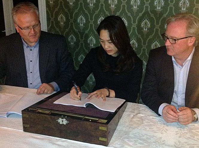 AKVA_DunAn Signing