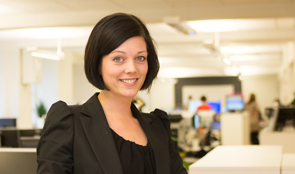 Picture of Veronica Augustsson, new CEO of Cinnober