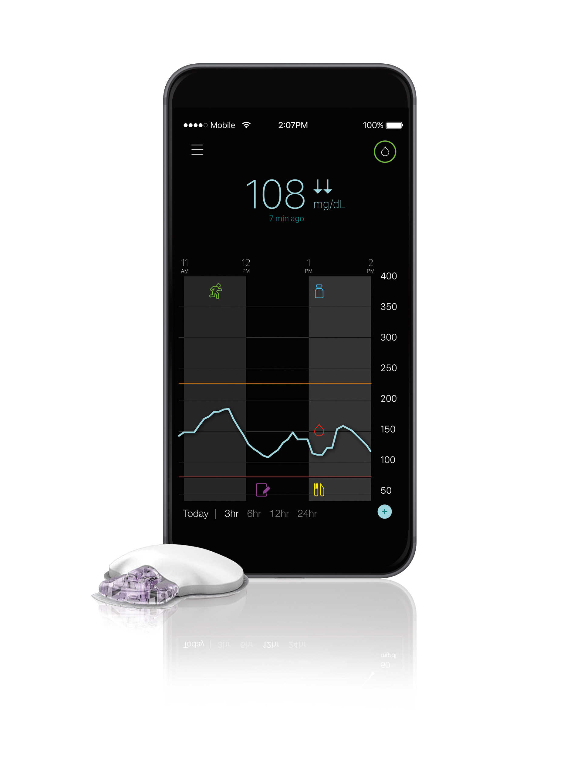 The Guardian™ Connect mobile continuous glucose monitoring (CGM) system for people with diabetes using insulin injection therapy is the first smartphone-enabled CGM system from Medtronic to receive CE Mark and further demonstrates the company's intent to provide solutions for people across the diabetes care continuum.