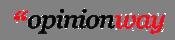 Description : Logo opinionway sans baseline