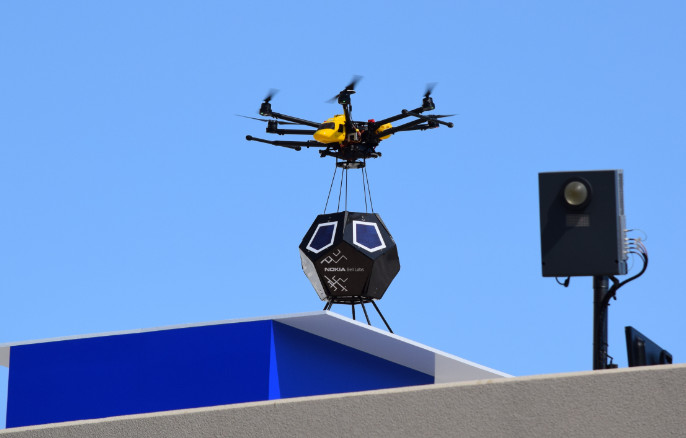 Drone Delivery of F-Cell