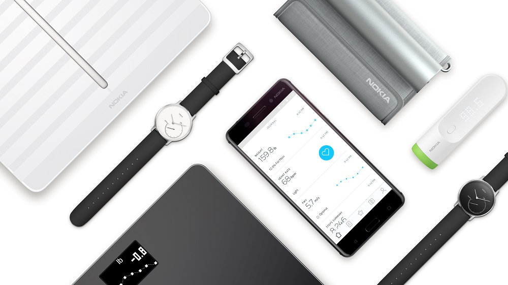 Nokia digital health products