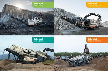 Description: Metso Lokotrack mobile range
