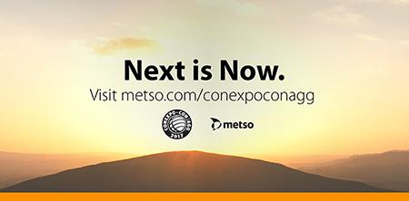 Metso at CONEXPOCONAGG