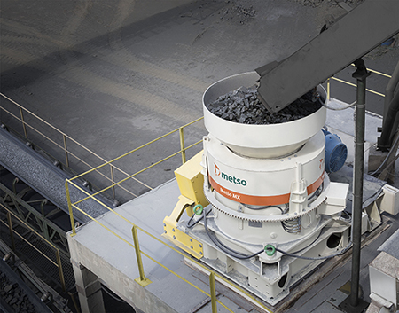 Industry-changing Metso MX cone crusher